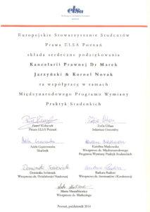 2014.10 dyplom ELSA